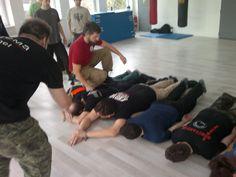 Das Team der Trainingsgruppe W23 in Bratislava bei einem Seminar mit Danijl Ryabko