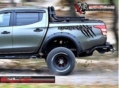 Vinyl Decals and Stickers, Custom Vehicle Design & Truck Graphics Custom Decal Stickers, Car Stickers, Sticker Vinyl, Mitsubishi Pickup, Off Road Bumpers, Truck Decals, Racing Stripes, Vinyl Siding, Ford Ranger