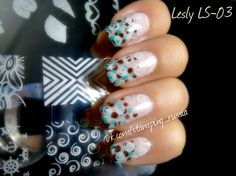 Lesly Stamping Tile - LS-03