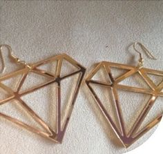 Diamond Supply Earrings