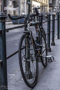 Bike in Molnár street