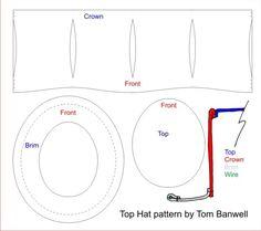 Steampunk Top Hat — Tom Banwell Designs