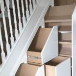View photos of our Under Stairs Storage & Attic Storage solutions. Attic Storage, Storage Spaces, Understairs Storage Ideas, Smart Storage, Cool Storage Ideas, Eaves Storage, Storage Organization, Space Under Stairs, Under Stairs Cupboard