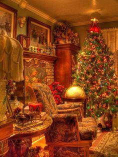 Our Christmas Tree Colorful Christmas Tree, Merry Christmas To All, Christmas Night, Christmas Scenes, Magical Christmas, All Things Christmas, Christmas Home, Vintage Christmas, Christmas Holidays