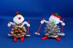 Pinecone Snow Buddies