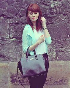 Stylizacja Mint jacket dodana przez blogerkę modową katarzyna.konderak