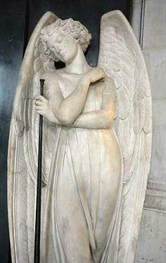 statu, angel art