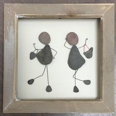 Best friend Gift Pebble Art Pebble Picture unique gift