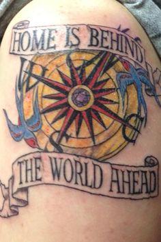 Nautical tattoo by artist Carl Dorr www.liquidswordz.biz   #tattoos