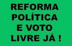 analiseagora: A discussão da reforma política no brasil é tema p...