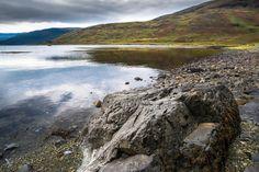 By the loch by John Portlock