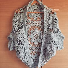 Ravelry: aureliavie's Flower Garden Shrug