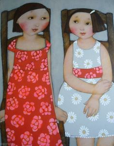 Cécile Veilhan     Cécile Veilhan born in Nantes in 1965. Charm, elegance and strength but with a lot of tenderness. Women's faces in all st...