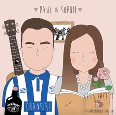 Paul and Sophie xxx Family Guy, Guys, Face, Illustration, Fictional Characters, Design, Illustrations, Boyfriends, Fantasy Characters