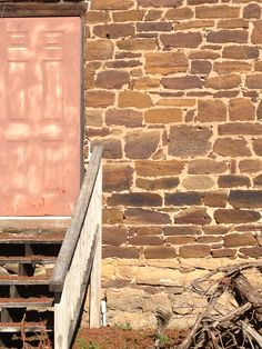 Amana Iowa stone and brick work - making things last a long time
