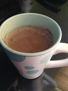 keto-on:  Oh.my.god. Keto hot chocolate: 1/2 cup unsweetened almond milk 1/2 heavy whipping cream 2 tbsp dark cocoa powder Sugar free vanilla syrup or liquid stevia extract Dash of cayenne pepper Put it all in a saucepan (is that what it's called?). Don't bring to a boil because that shit will spill over… first hand experience. Just heat on medium until its smooth and creamy and ugh… Heaven in my mouth. This is perfect for shark week. 47 grams of fat. 4 net carbs.  Practically a liquid fat…