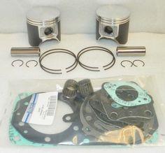 WSM Kawasaki 750 Platinum Piston Top End Rebuild Kit 22mm PWC 010-821-10P, 13001 #Kawasaki