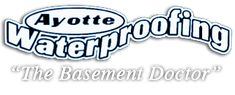 Ayotte Waterproofing, keeping your home and office dry in Northern Michigan. We also offer egress windows, sump pump installation & more. Leaky Basement, Wet Basement, Window Well Installation, French Drain Installation, Tile Installation, Drain Tile, Egress Window, Foundation Repair