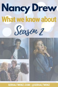 NANCY DREW SEASON 2   If you're a fan of the CW fantasy, mystery, horror, drama Nancy Drew and you can't wait for the show to return on January 2021, this is for you. Check out our blog post on everything about Nancy Drew Season 2, starring the talented Kennedy McMann, Maddison Jaizani, Leah Lewis and more: news, cast, plot, spoilers, S1 Recap, trailer, promo, and more   #NancyDrew #DrewCrew #NancyDrewS2 #TheCW Cw Tv Series, Marvel Series, Drama Series, Book Series, Scott Wolf, The Cw Tv Shows, Ally Mcbeal, Devious Maids, Famous In Love