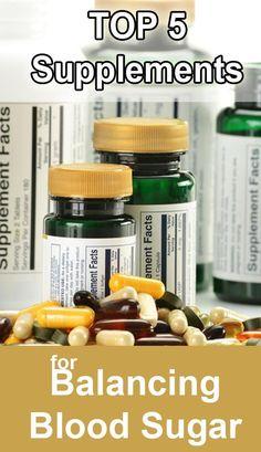 Top 5 Supplements for Type 2 Diabetes