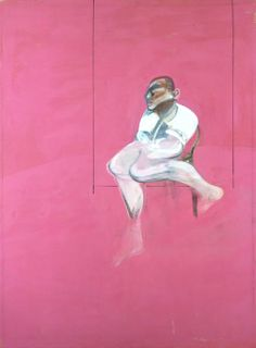 Francis Bacon - Study for a Portrait of John Edwards, unfinished