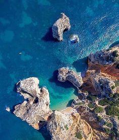 Praia dos Pinheiros, Lagos, Algarve, Portugal