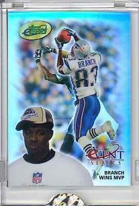 2005 eTopps in Hand Deion Branch New England Patriots Super Bowl MVP XXXIX | eBay