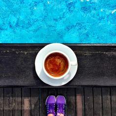Смотрите это фото от @nodaywithoutcoffee на Instagram • Отметки «Нравится»: 223 Coffee Cookies, Latte, Drinks, Tableware, Instagram Posts, Drinking, Coffee Biscuits, Dinnerware, Dishes