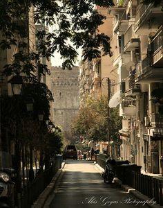 Thessaloniki, Macedonia, Athens, Greece, Amethyst, Street View, Places, Photos, Travel