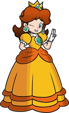 Hi i'm Princess Daisy by Blistinaorgin.deviantart.com on @deviantART Nintendo from Original