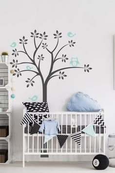 Lullaby tree Two Dots, Wall Decals, Range, Colours, Home Decor, Cookers, Decoration Home, Room Decor, Home Interior Design