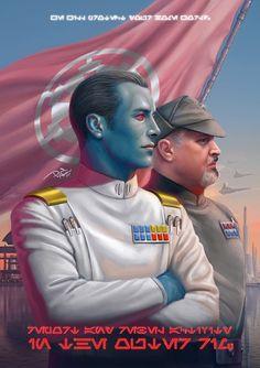 Artwork from the Star Wars Universe. Star Wars Rpg, Star Wars Rebels, Star Trek, Sw Rebels, Starwars, Grande Almirante Thrawn, Thrawn Star Wars, Jouet Star Wars, Grand Admiral Thrawn