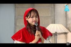 Squishy Choi Yoojung from I.O.I Vapp Broadcast
