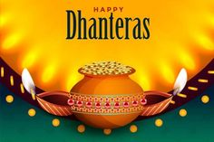 Latest Happy Dhanteras Wishes In English For Whatsapp And Facebook Dhanteras Images, Happy Dhanteras Wishes, Diwali Fireworks, Happy Diwali Wallpapers, Hindu Worship, Instagram Message, Diwali Celebration