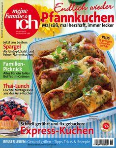 meine Familie & ich: 6/2015: Endlich wieder Pfannkuchen! / Spargel / Express-Kuchen  burdafood.net-Archiv/Eising Studio – Food Photo & Video, Martina Görlach http://www.burda-foodshop.de/Einzelhefte/Einzel-meine-Familie-ich/