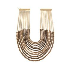 Rosantica Raissa Necklace ($330) ❤ liked on Polyvore featuring jewelry, necklaces, brown, handcrafted jewellery, magnetic necklace, 24k jewelry, brown jewelry and magnet jewelry