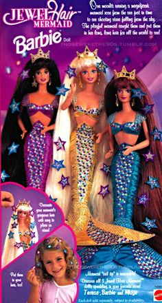 mermaids...I had all of these and I LOVED them!!
