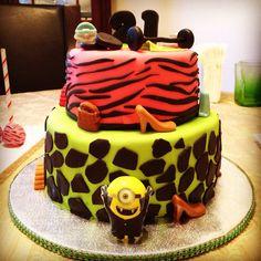 21 girly cake