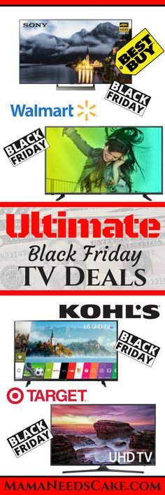 Ultimate Black Friday TV Deals   Our family goes shopping on Black Friday every year. Standing in line with Best Buy or Wal-Mart never works out when they have a good deal. However, we have had a lot of success buying online year after year. I have put together a guide to help you find …