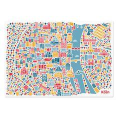 Köln Poster - Vianina