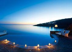 Dusk, Mykonos, Greece