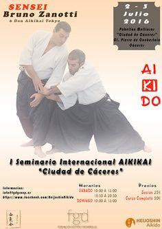 """BUDOKAN blog de artes marciales : I Seminario Internacional de Aikido """"Ciudad de Cáceres"""""""