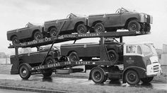 Landrovers for export