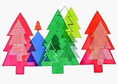 Margaret Berg Art: Illustration: vacances / Noël #Christmasillustration