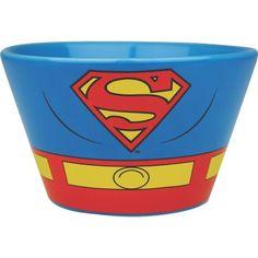 Un bol Superman, pour enfiler le costume du superhéros dès le café matinal !