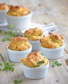 Caramelized Vegetable Muffins.
