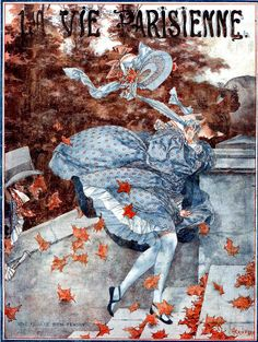 """La Vie Parisienne"" French Magazine (1923) - Cover illustration by Chéri Hérouard (1881-1961)"