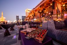 Delicious desserts stunned at this OTS produced off-site event at OMNIA Nightclub in Las Vegas! Las Vegas Events, Event Management Company, Nightclub, Delicious Desserts, Scene, Table Decorations, Dinner Table Decorations, Stage