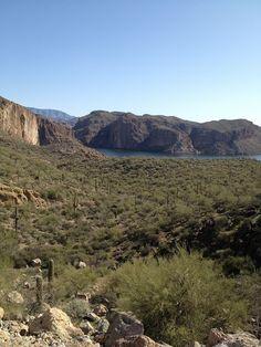 Apache Trail Arizona and Salt River
