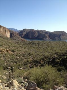 Apache Trail Arizona and Salt River